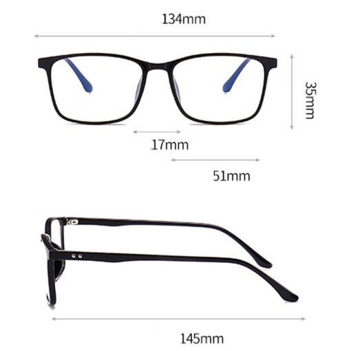 Fashion Blue Light Blocking Eyeglasses for Women Men LH10