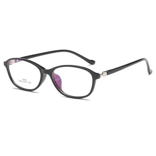 Fashion Women's Oval Blue Light Blocking Reading Glasses 8099