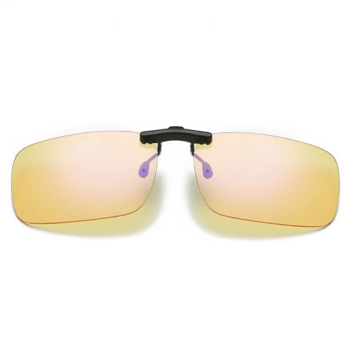 Anti Blue Light Clip On/Flip Up Computer Glasses Rimless