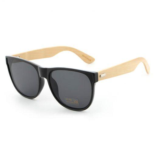 Stylish Floating Bamboo Sunglasses Polarized Lenses for Women Men