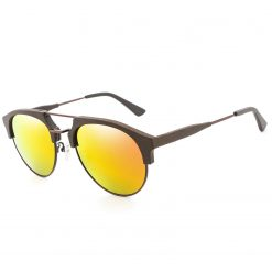 Wood Aviator Polarized Sunglasses for Women Men BC04