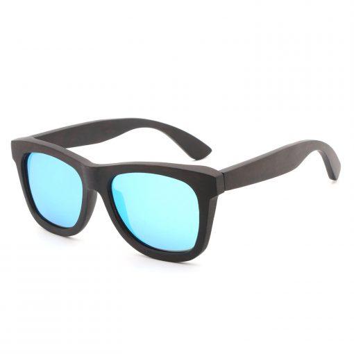 Handmade Full Wood Grain Wayfarer Sunglasses Polarized Lenses for Women Men DB78